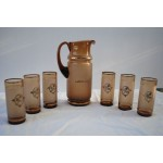 Bohemian Glass drinks set
