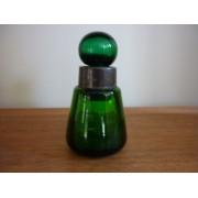 Green medicine bottle