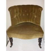 Victorian parlour chair